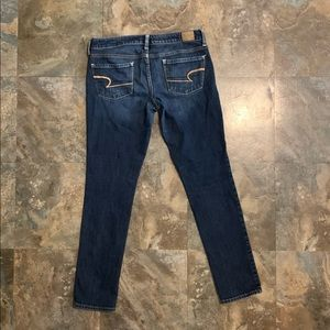 American Eagle size 8 skinny stretch  jeans
